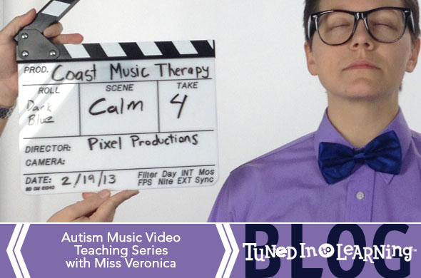 Free Autism Music Therapy Video Series- Miss Veronica | Tuned in to Learning