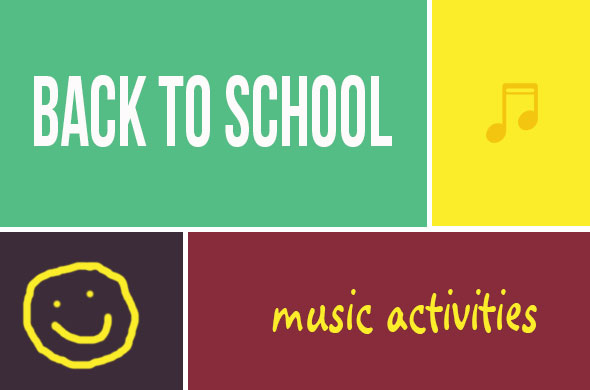 Back to School Music Activities | Tuned in to Learning- Music for Special Education