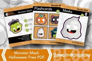Halloween 2014 Monster Mash Activity   Tuned in to Learning