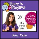Keep Calm Bundle - Tuned in to Learning | Music for Special Education