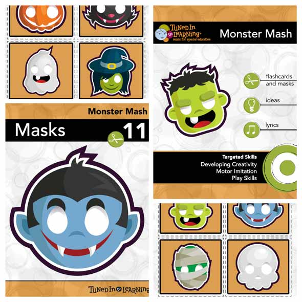 Monster Mash Music Therapy Halloween PDF Sample