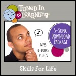 Skills for Life Bundle- Tuned in to Learning | Music for Special Education