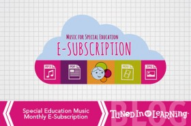Special Education Music Therapy Subscription | Tuned in to Learning Blog
