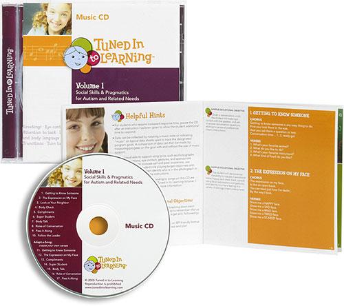 volume 1- social skills  u0026 pragmatics cd only