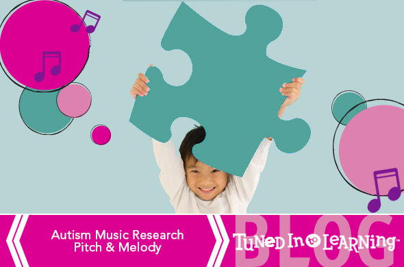 Autism Music Research Pitch Melody Blog | Tuned in to Learning - Music for Special Education