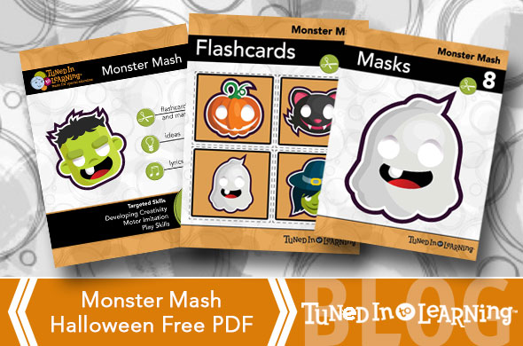 Halloween 2014 Monster Mash Activity | Tuned in to Learning