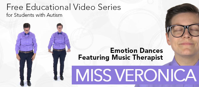 Miss Veronica Autism Music Video Teaches Emotions | Tuned in to Learning